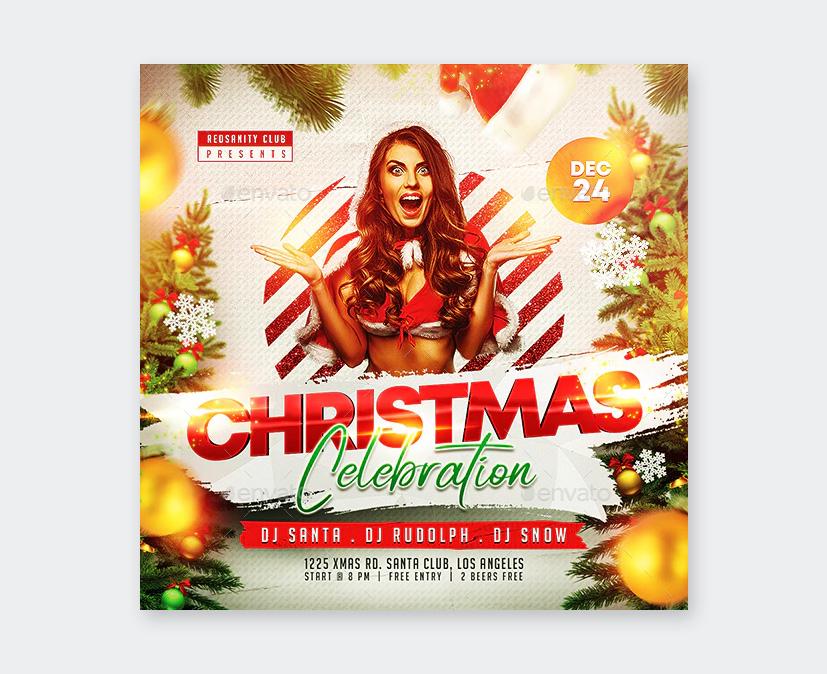 Design Christmas Flyer