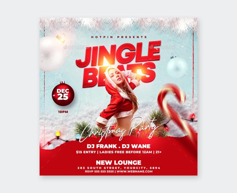 Jungle Beat Party Flyer Design