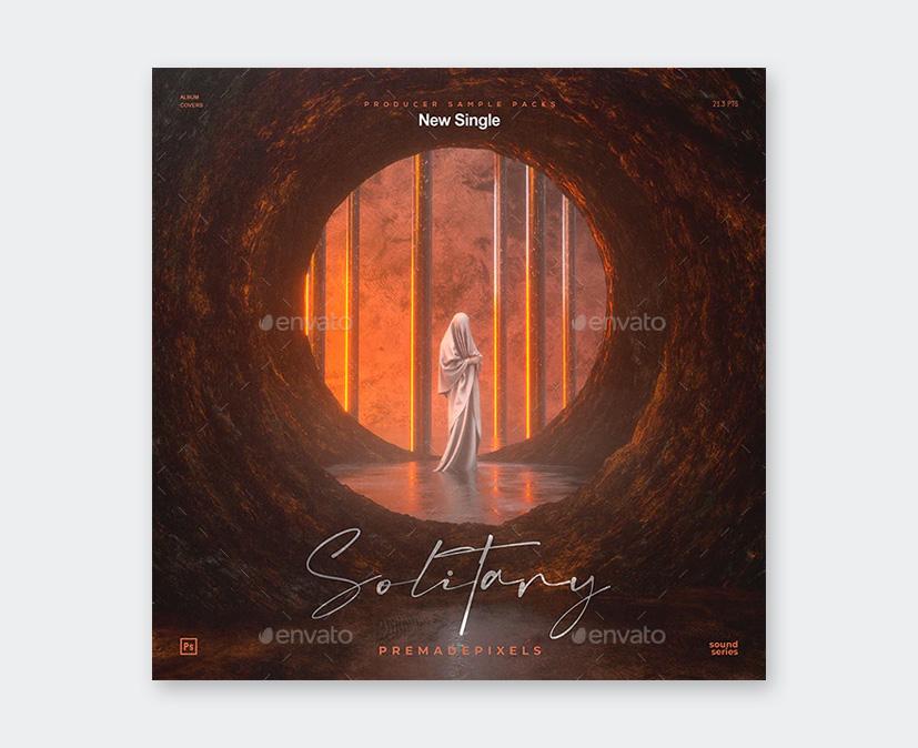 PSD Album Cover Art Design