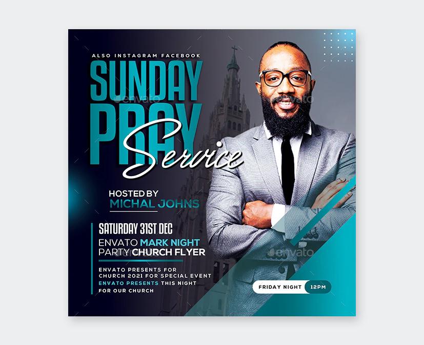 PSD Church Flyer Design