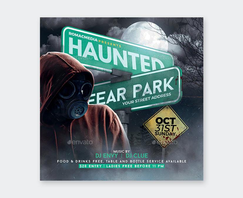 PSD Halloween Flyer
