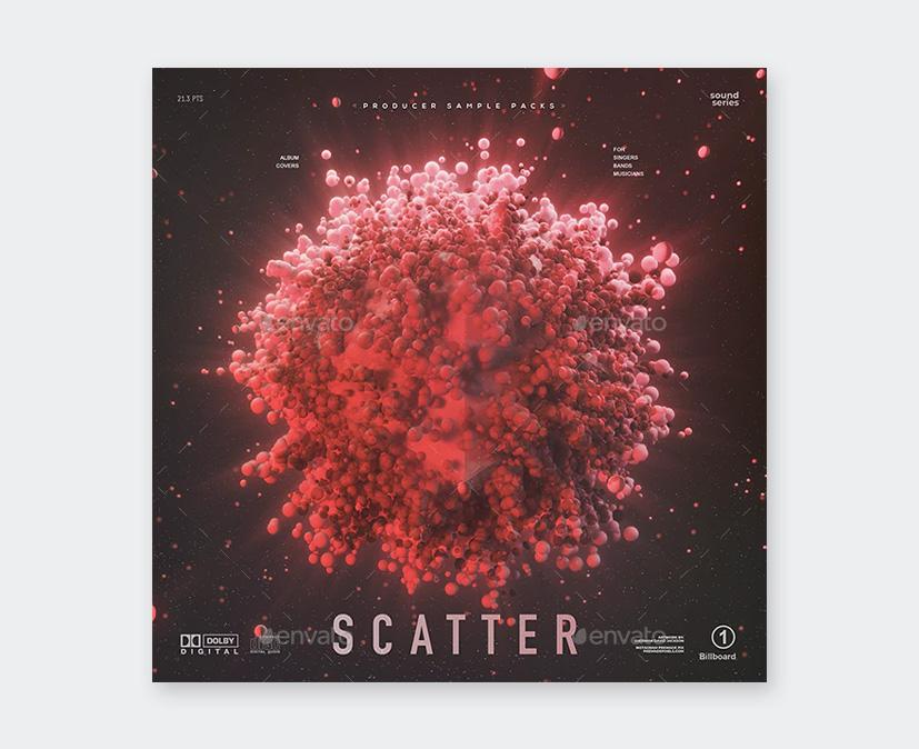 Scatter Music Cover Art